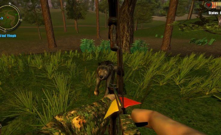 Eaten hunter is an online game